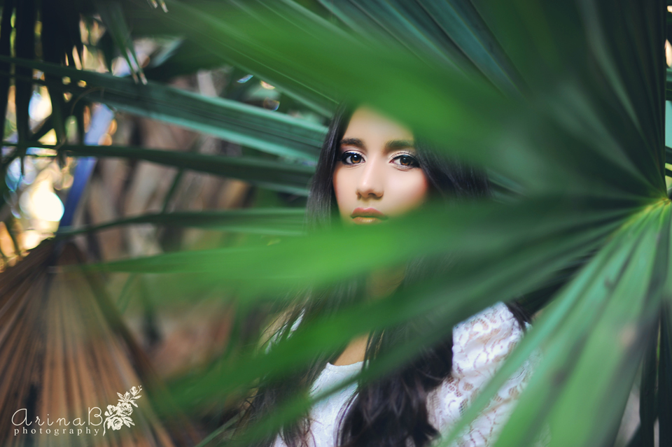 Rain Forest Beauty Model Photography Preview Arina B