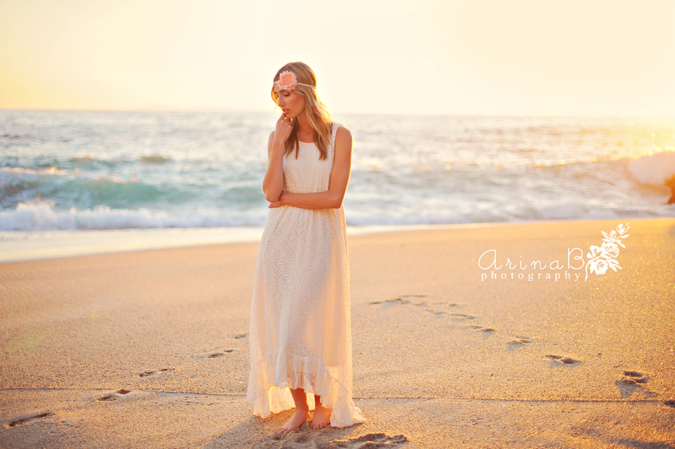 Marry Me At The Sunset Styled Bridal Shoot In Laguna