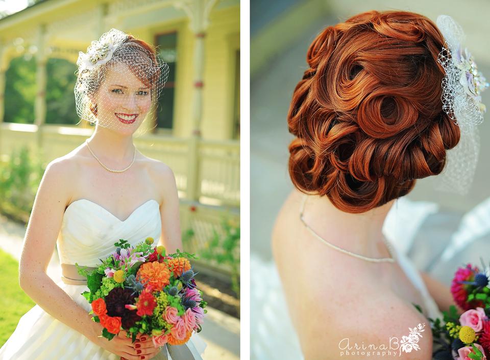 Bright And Happy ( Fullerton Arboretum Retro Wedding )   Arina B. Photography