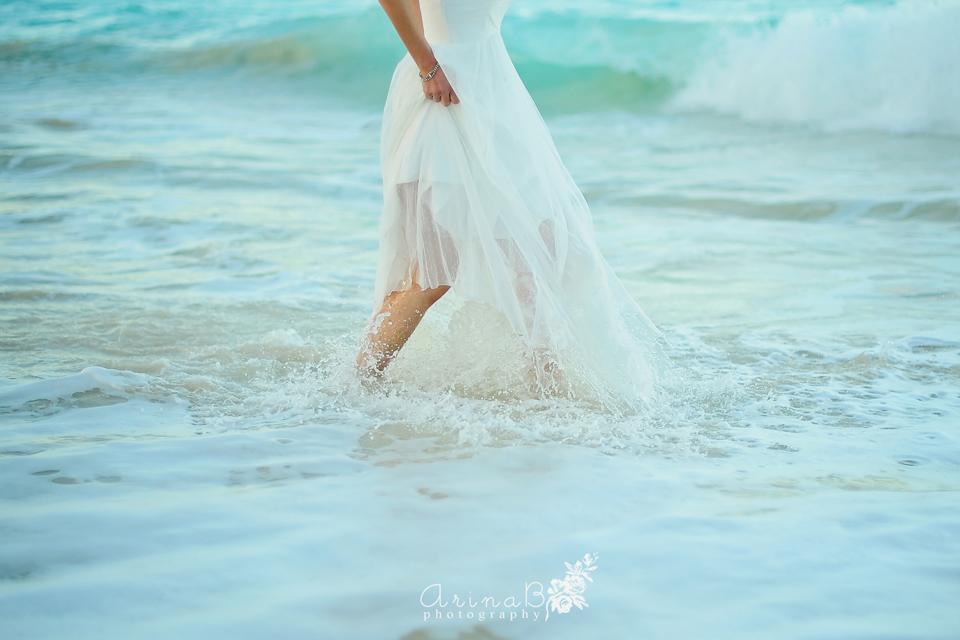 Beach Wedding Ceremony Oahu: Waimanalo Beach And Turtel Bay Resort Wedding In Hawaii
