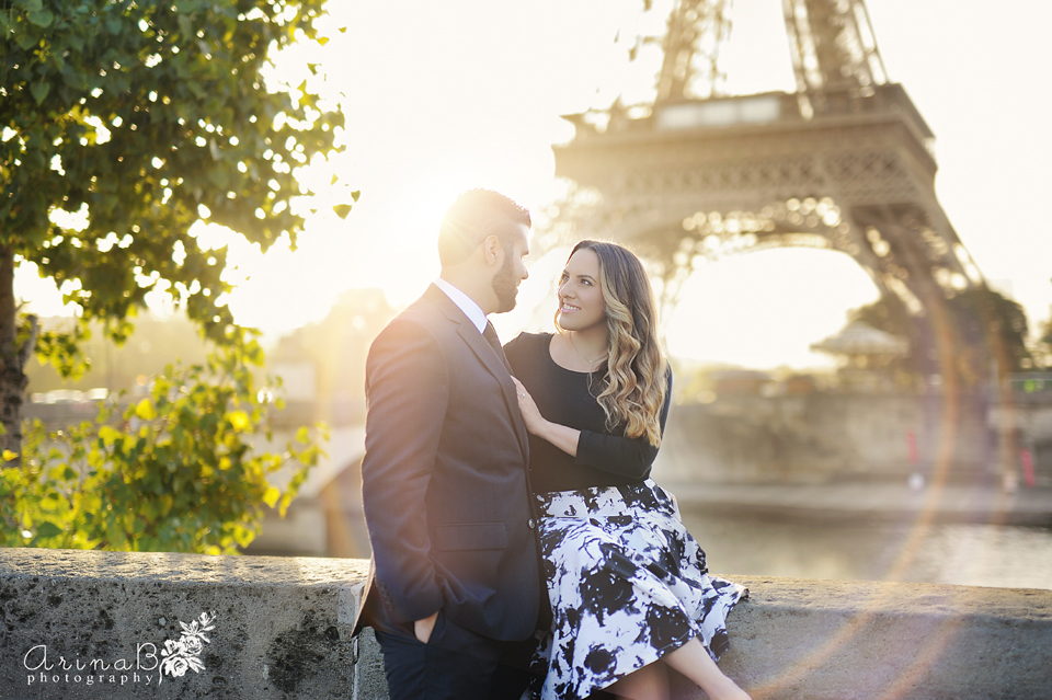 Paris on Fire (Portrait session in Paris, France )