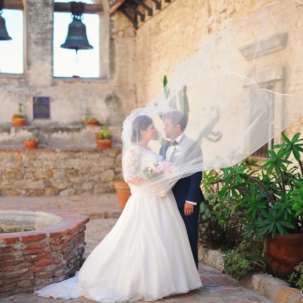 Feeling the Love ( Mission San Juan Capistrano and Bella Collina Wedding )