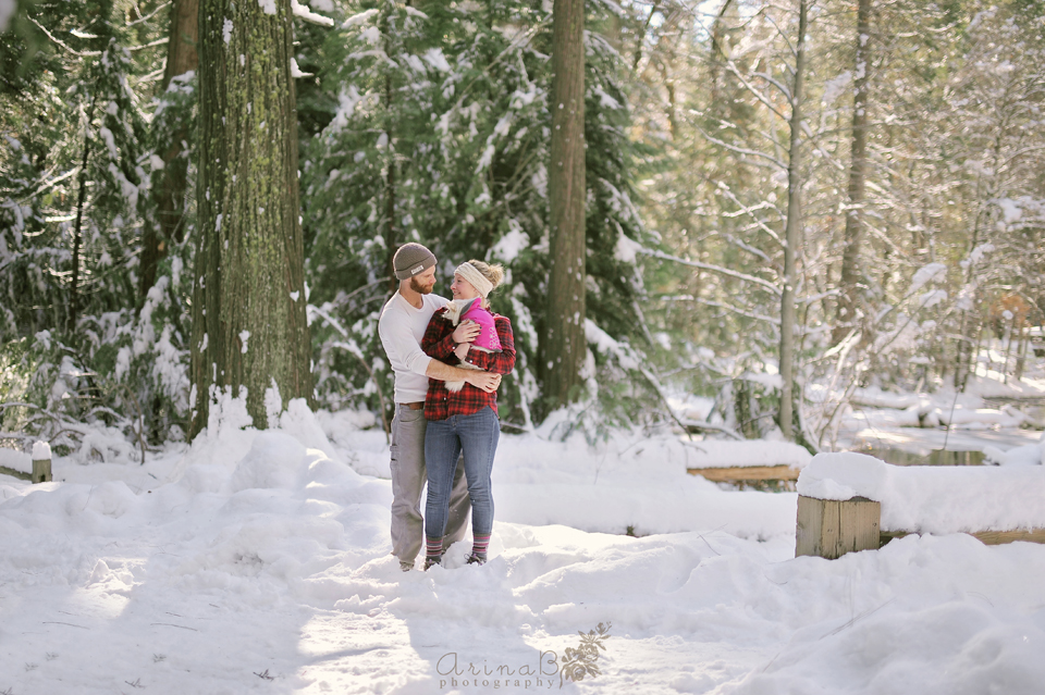 I Belong in Winter (Yosemite couple photo session)