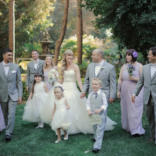 Pretty in Lavender ( Hartley Botanica wedding)