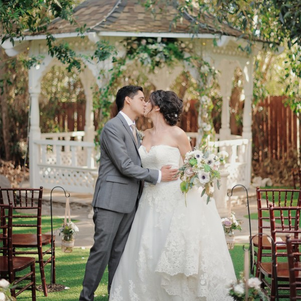 For Love of Books ( Twin Oaks Wedding, San Marcos, California)