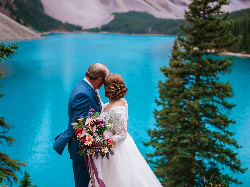 Elopement in Banff National Forest