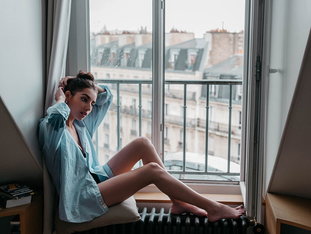 Victoria in Parisian Flat