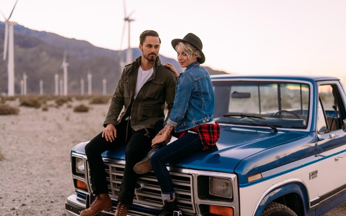 Sam + Austine , Palm Springs