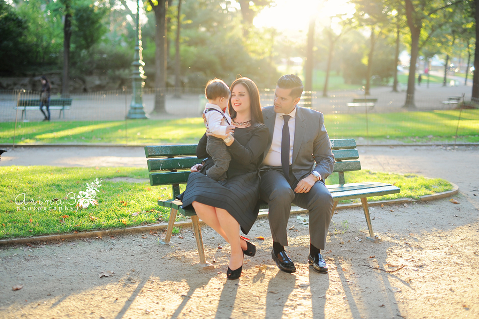 Our Paris (Family photo session in Paris , France)