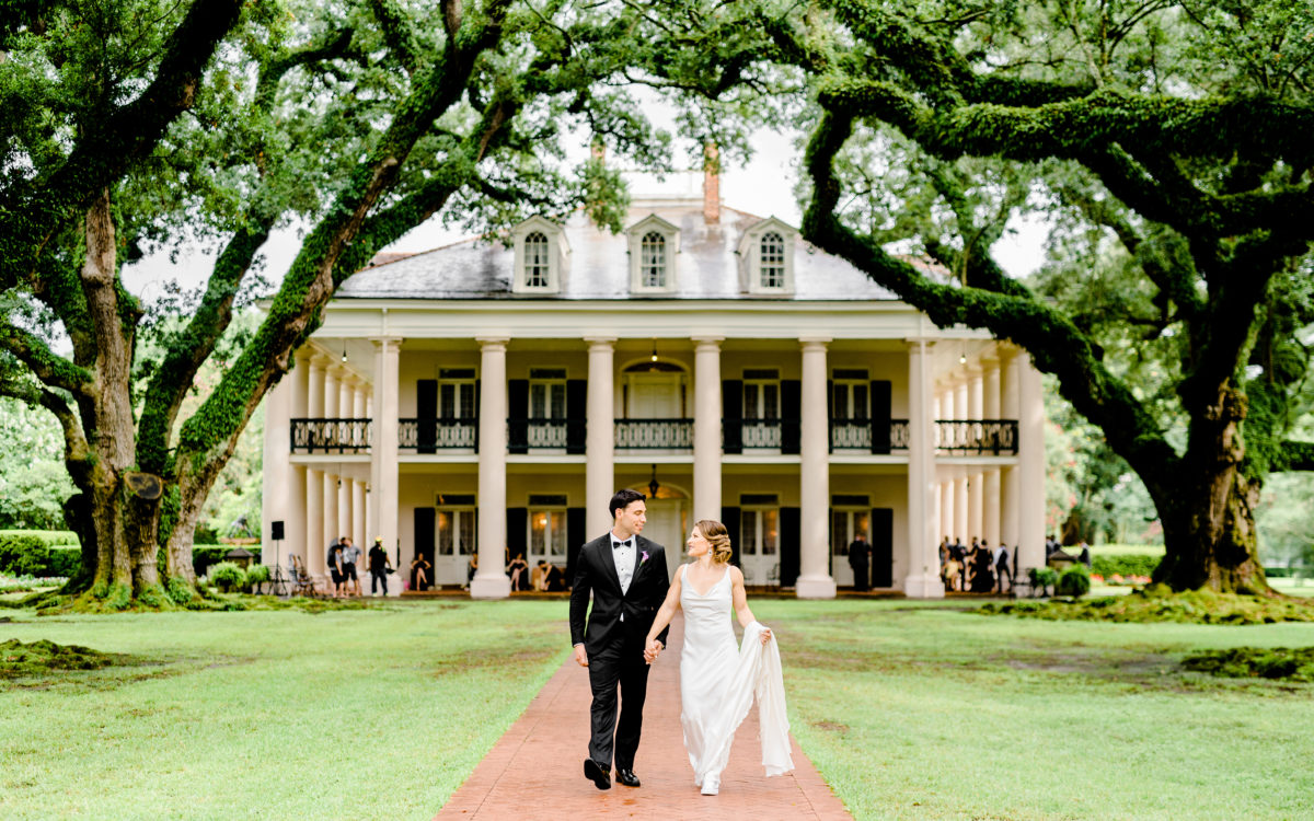Oak Alley Plantation Wedding, Louisiana