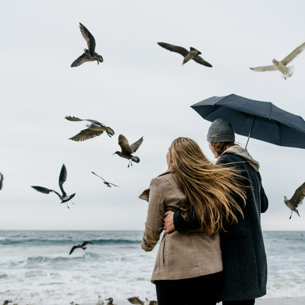 Laguna Beach Rainy Day